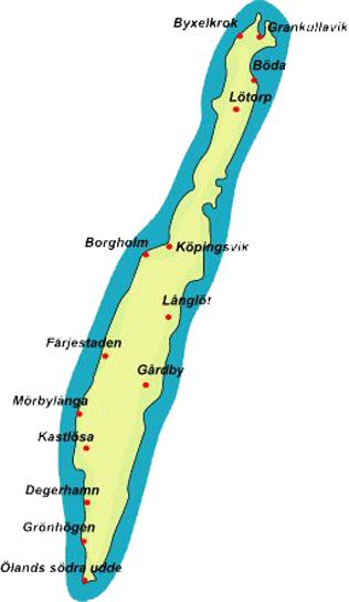 karta färjestaden öland Province Öland karta färjestaden öland